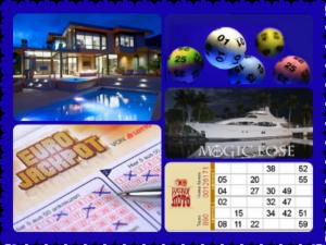 Богатство с помощью лотереи