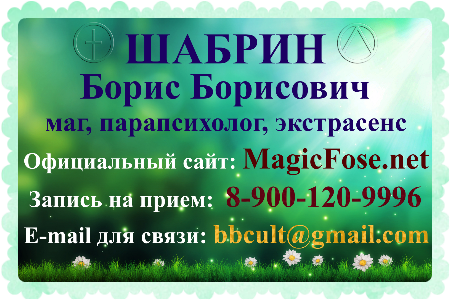 маг Борис Шабрин отзывы Fose